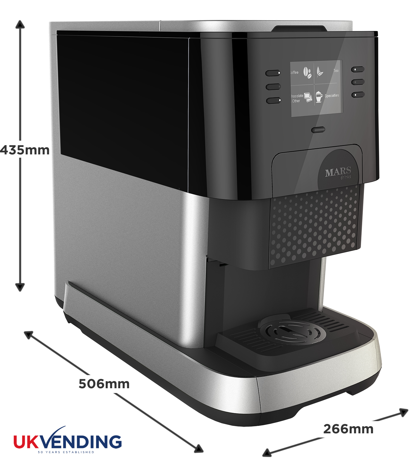 Dimensions Of Coffee Maker : Flavia Creation 500 office coffee machine UK Vending Ltd