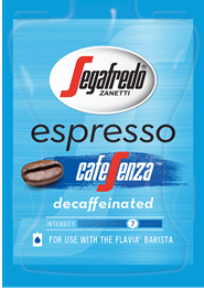 Segafredo Cafe Senza Barista Coffee