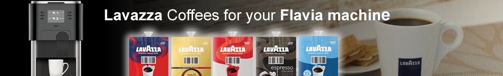 New Flavia lavazza Coffees